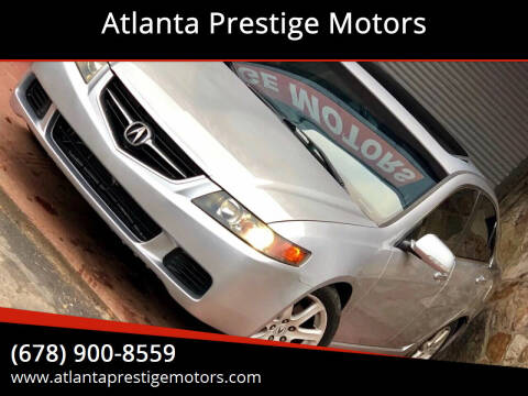 2004 Acura TSX for sale at Atlanta Prestige Motors in Decatur GA