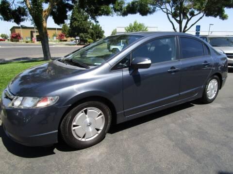 2008 Honda Civic for sale at KM MOTOR CARS in Modesto CA