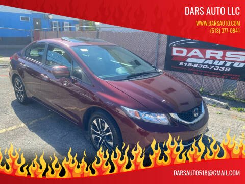 2014 Honda Civic for sale at DARS AUTO LLC in Schenectady NY