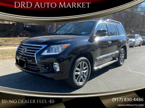 2015 Lexus LX 570 for sale at DRD Auto Market in Flushing NY