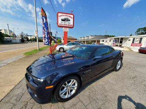 2015 Chevrolet Camaro for sale at Ford's Auto Sales in Kingsport TN