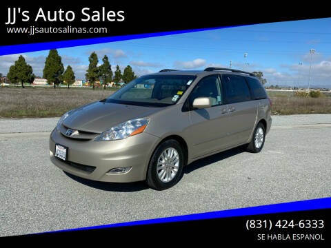 2008 Toyota Sienna for sale at JJ's Auto Sales in Salinas CA