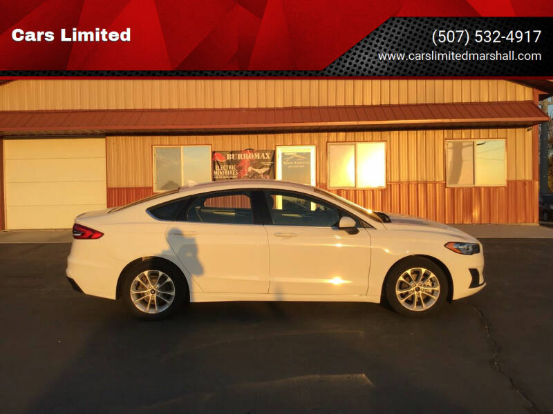 2019 Ford Fusion for sale at Cars Unlimited in Marshall MN