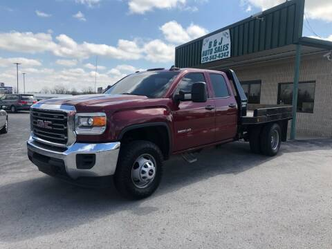 2015 GMC Sierra 3500HD for sale at B & J Auto Sales in Auburn KY