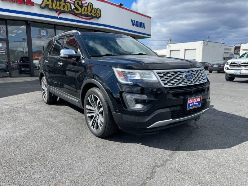 2017 Ford Explorer for sale at Better All Auto Sales in Yakima WA