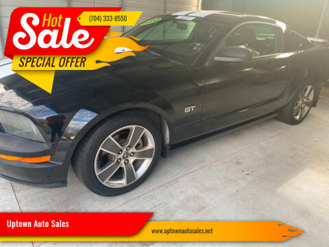 2008 Ford Mustang for sale at Uptown Auto Sales in Charlotte NC