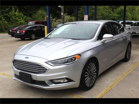 2018 Ford Fusion Hybrid for sale at Inline Auto Sales in Fuquay Varina NC