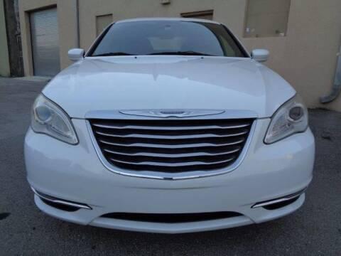 2011 Chrysler 200 for sale at Selective Motor Cars in Miami FL