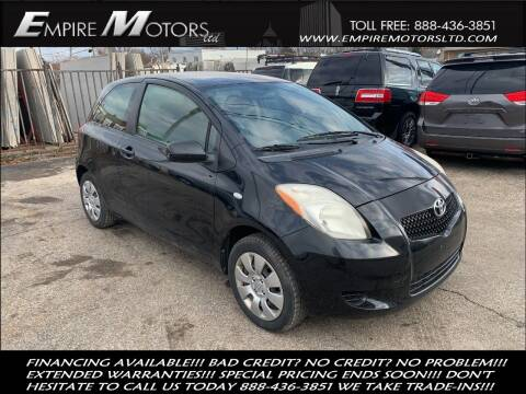 2008 Toyota Yaris for sale at Empire Motors LTD in Cleveland OH