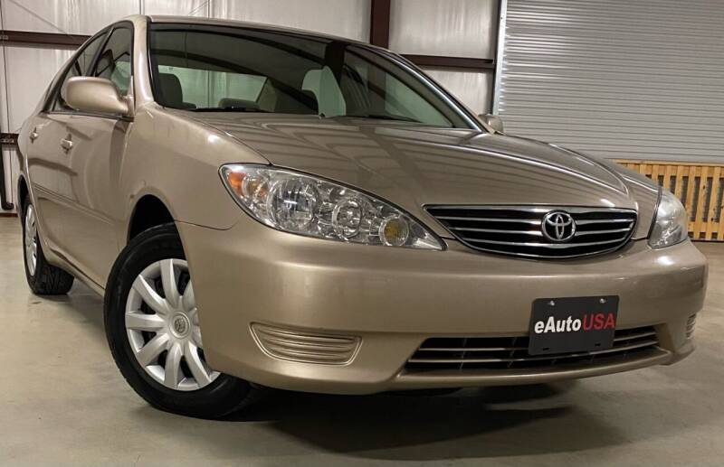 2005 Toyota Camry for sale at eAuto USA in New Braunfels TX