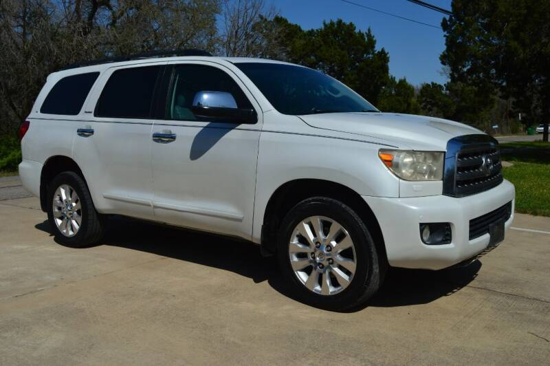 2008 Toyota Sequoia for sale at Coleman Auto Group in Austin TX