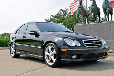 2006 Mercedes-Benz C-Class for sale at European Motor Cars LTD in Fort Worth TX