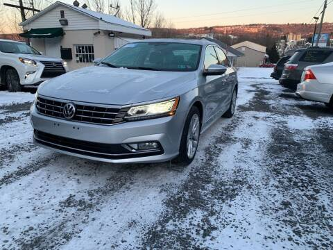 2016 Volkswagen Passat for sale at JM Auto Sales in Shenandoah PA