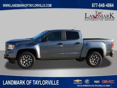 2021 GMC Canyon for sale at LANDMARK OF TAYLORVILLE in Taylorville IL
