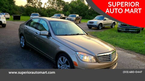 2010 Mercedes-Benz C-Class for sale at SUPERIOR AUTO MART in Amelia OH