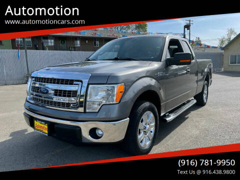 2013 Ford F-150 for sale at Automotion in Roseville CA