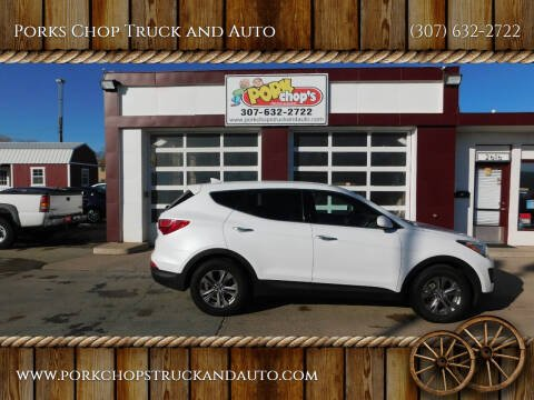 2014 Hyundai Santa Fe Sport for sale at Porks Chop Truck and Auto in Cheyenne WY
