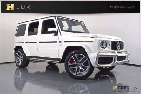2020 Mercedes-Benz G-Class for sale at HGREG LUX EXCLUSIVE MOTORCARS in Pompano Beach FL