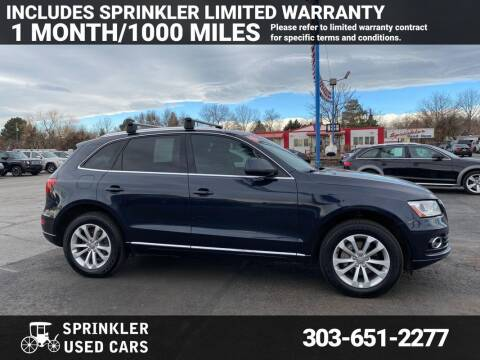 2013 Audi Q5 for sale at Sprinkler Used Cars in Longmont CO