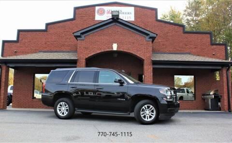 2015 Chevrolet Tahoe for sale at Atlanta Auto Brokers in Cartersville GA