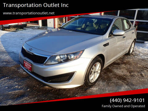 2011 Kia Optima for sale at Transportation Outlet Inc in Eastlake OH