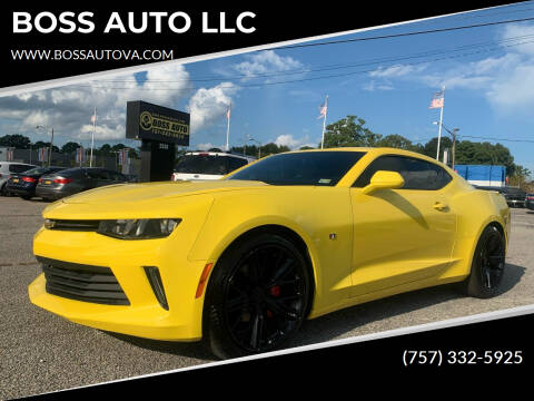 2016 Chevrolet Camaro for sale at BOSS AUTO LLC in Norfolk VA