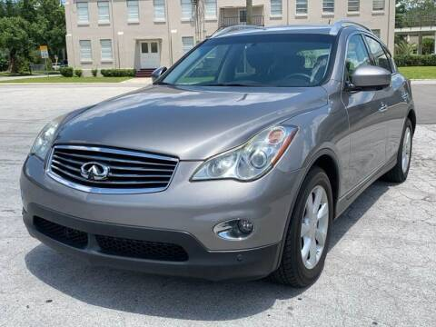 2010 Infiniti EX35 for sale at Consumer Auto Credit in Tampa FL