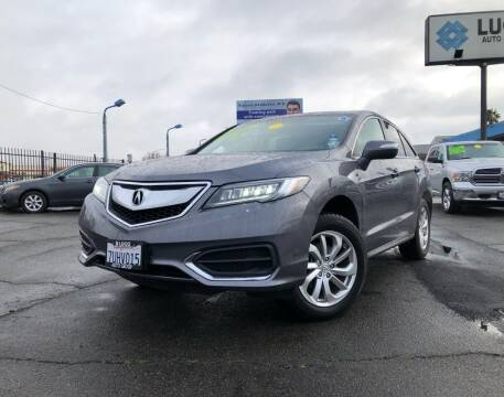 2017 Acura RDX for sale at LUGO AUTO GROUP in Sacramento CA