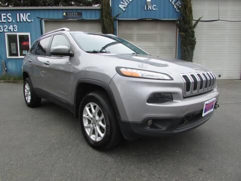 2015 Jeep Cherokee for sale at Avilas Auto Sales Inc in Burien WA