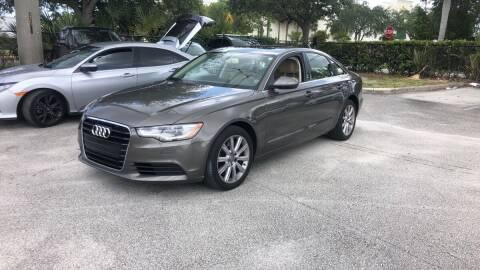 2015 Audi A6 for sale at Classic Cars of Palm Beach in Jupiter FL