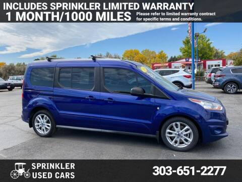 2014 Ford Transit Connect Wagon for sale at Sprinkler Used Cars in Longmont CO