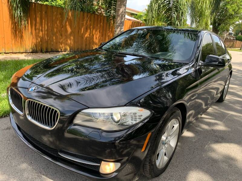 2013 BMW 5 Series for sale at FINANCIAL CLAIMS & SERVICING INC in Hollywood FL