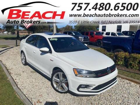 2016 Volkswagen Jetta for sale at Beach Auto Brokers in Norfolk VA