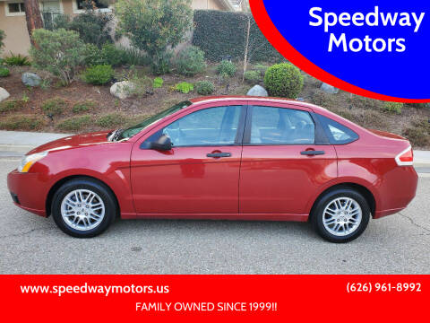 2011 Ford Focus for sale at Speedway Motors in Glendora CA