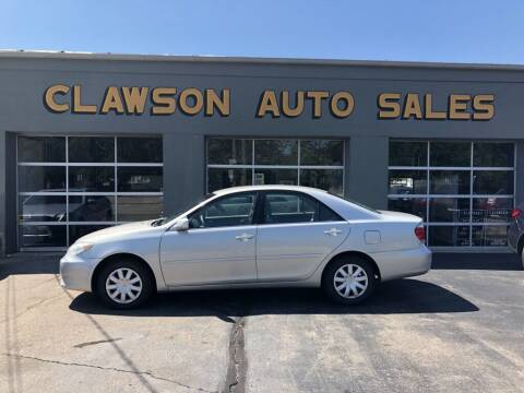 2006 Toyota Camry for sale at Clawson Auto Sales in Clawson MI