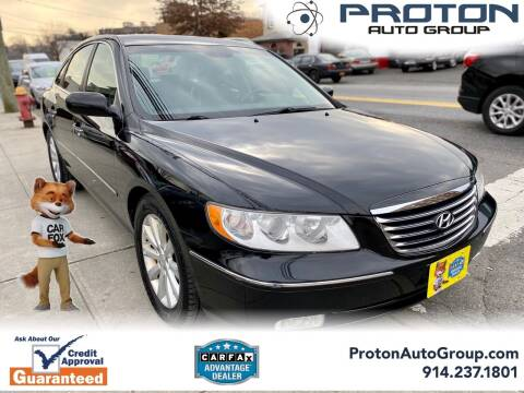 2009 Hyundai Azera for sale at Proton Auto Group in Yonkers NY