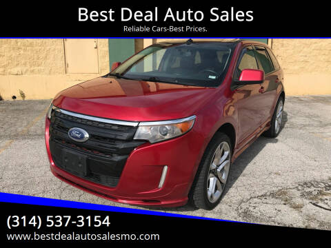 2011 Ford Edge for sale at Best Deal Auto Sales in Saint Charles MO