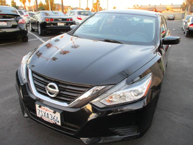 2016 Nissan Altima for sale at F & A Car Sales Inc in Ontario CA