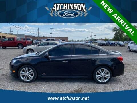 2013 Chevrolet Cruze for sale at Atchinson Ford Sales Inc in Belleville MI