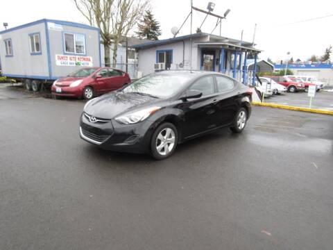 2011 Hyundai Elantra for sale at ARISTA CAR COMPANY LLC in Portland OR