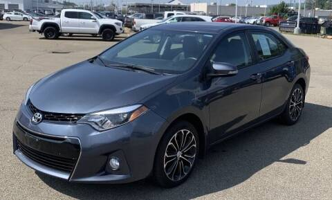 2015 Toyota Corolla for sale at Father & Sons Auto Sales in Leeds NY