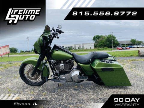 2002 Harley-Davidson FLHR Road King for sale at Lifetime Auto in Elwood IL