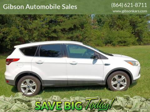 2015 Ford Escape for sale at Gibson Automobile Sales in Spartanburg SC
