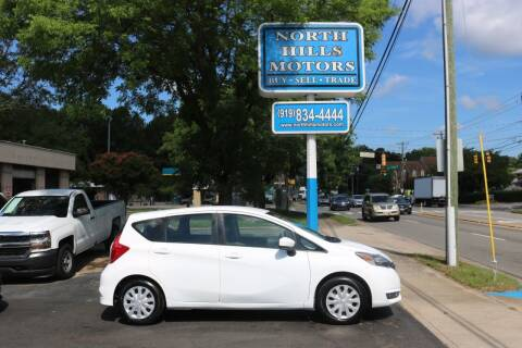 2017 Nissan Versa Note for sale at North Hills Motors in Raleigh NC