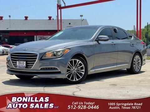 2015 Hyundai Genesis for sale at Bonillas Auto Sales in Austin TX