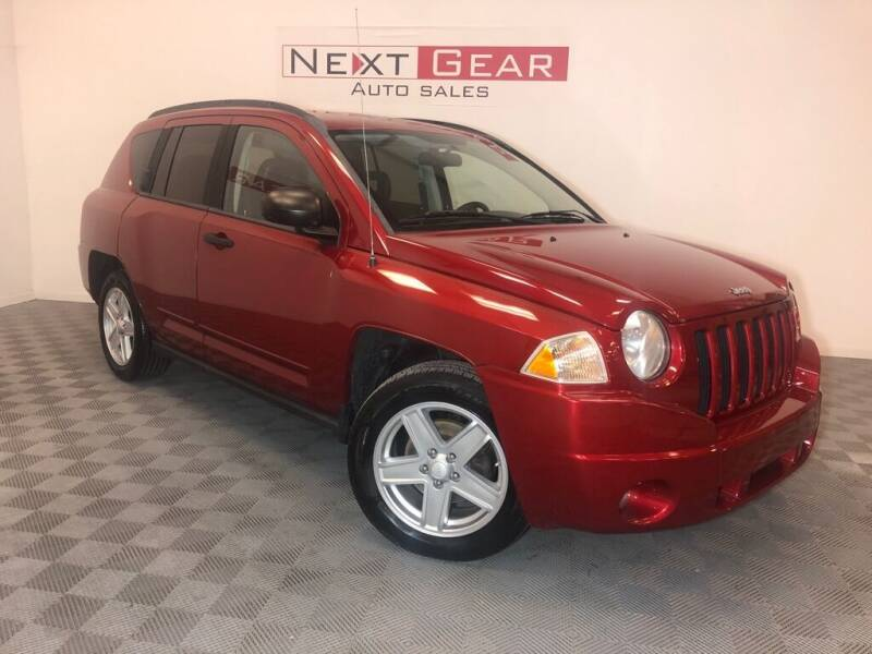 2008 Jeep Compass for sale at Next Gear Auto Sales in Westfield IN