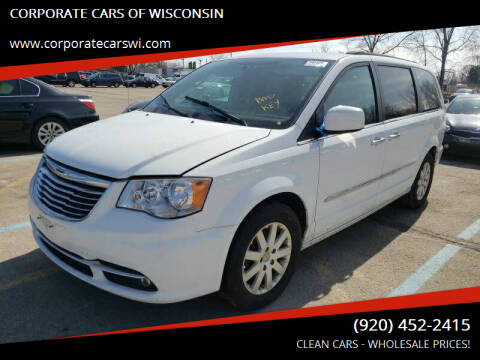 2014 Chrysler Town and Country for sale at CORPORATE CARS OF WISCONSIN in Sheboygan WI