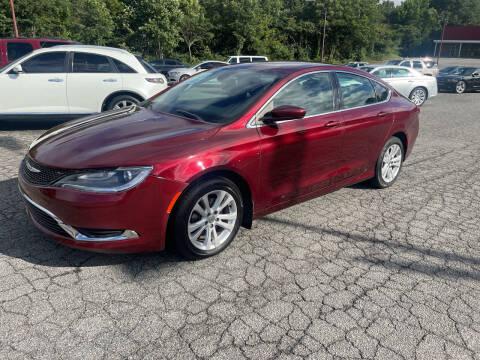 2016 Chrysler 200 for sale at Certified Motors LLC in Mableton GA