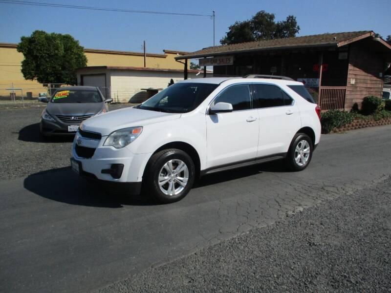 2012 Chevrolet Equinox for sale at Manzanita Car Sales in Gridley CA
