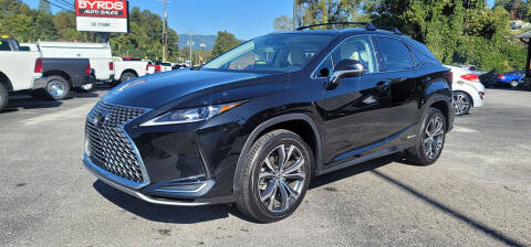 2022 Lexus RX 450h for sale at Byrds Auto Sales in Marion NC